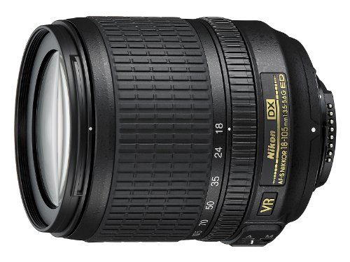 Nikon-AF-S-DX-NIKKOR-18-105mm-f35-56G-ED-Vibration-Reduction-Zoom-Lens-with-Auto-Focus-for-Nikon-DSLR-Cameras