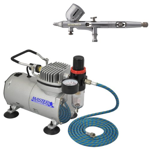 Master G43 Airbrush with TC-20 Compressor and Hose