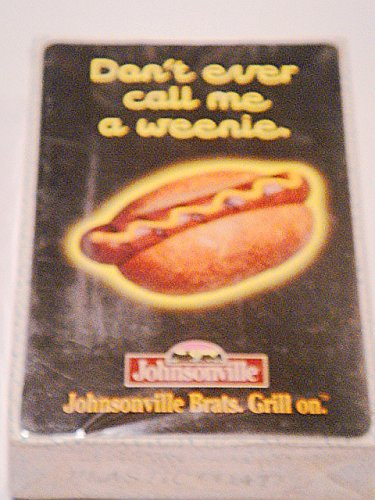 vintage-rare-advertising-dont-call-me-a-weenie-johnsonville-brats-custom-playing-cards-new-in-packag