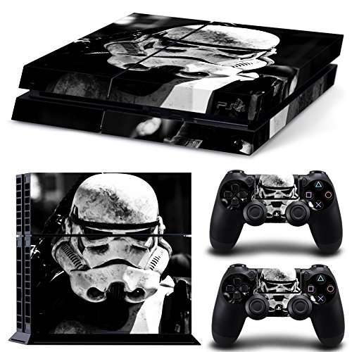 GameCheers PS4 Console and DualShock 4 Controller Skin Autoadesivo Adesivi Set -Star Warrior - PlayStation 4 Vinyl
