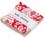 "Hello Darling Moda Charm Pack By Bonnie and Camille; 42 - 5"" Precut Fabric Quilt Squares"