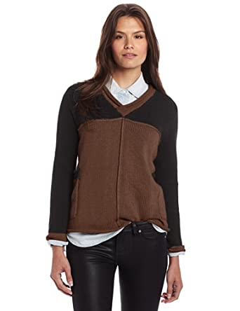 Pure Handknit Women's Patong Sweater, Brown Eyed Girl, Small/Medium