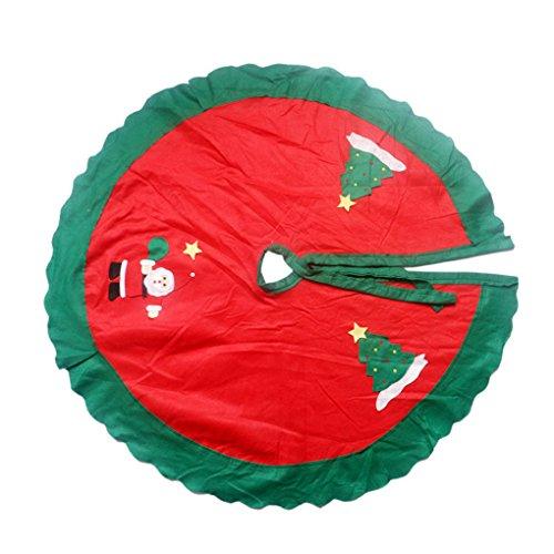 QHGstore Modelo del árbol de navidad de Navidad de la falda del...