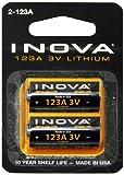 Nite Ize ILM2-03-123 Inova Lithium Batteries, 2-Pack