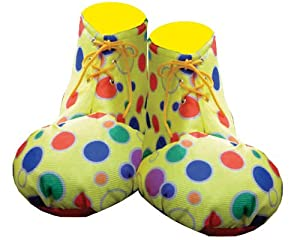 Yellow Clown Shoe Covers - Kids by Dress Up America