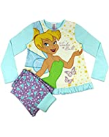 Disney Fairies Tinkerbell Pyjamas | Disney Tinkerbell PJs | From Age 18 Months to 10 Years