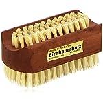 Croll & Denecke 20256 Nagelbürste aus hochwertigem Birnbaumholz