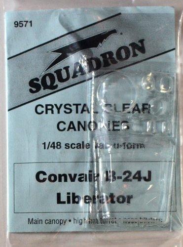 Squadron Products B-24J Liberator Vacuform Canopy