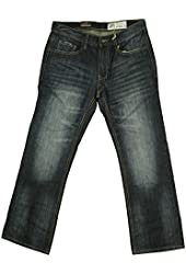 Axel Mens Griswold Slim Straight Boot Jeans