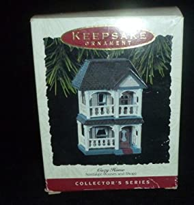 Hallmark Keepsake Ornament Cozy Home 10th in Series QX417-5 1993
