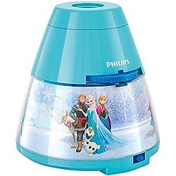 Philips e Disney, Frozen, Lampada da Tavolo Proiettore LED