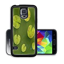 buy Liili Premium Samsung Galaxy S5 Aluminum Case A Shot Of Some Pacman Like Lily Pads Image Id 21723148