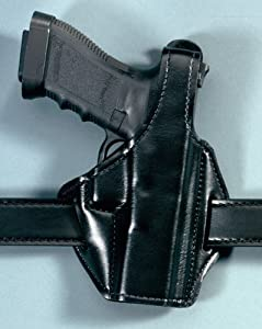 Safariland 747 Pancake Concealment Holster for Pistols, Plain Black, Right Hand - Glock 747-283-61
