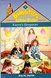 Karen's Sleepover (0590551329) by Ann M. Martin