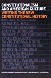 Constitutionalism and American Culture: Writing the New Constitutional (0700611533) by Vanburkleo, Sandra F.