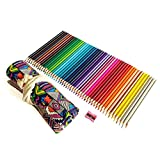 Coloring Pencils for Adults Kids Art Supply Colored Organizer Drawing Kit Set