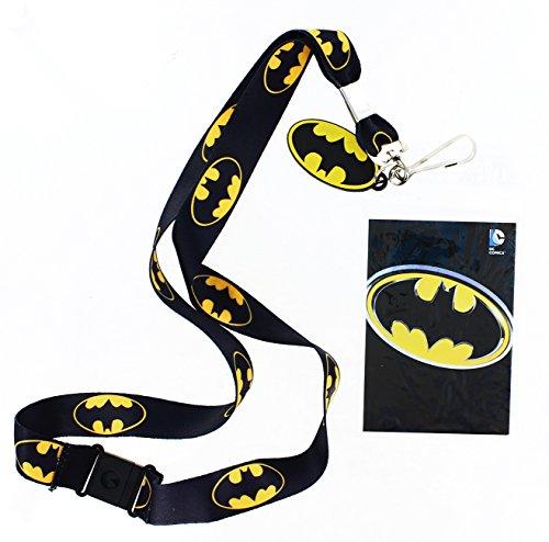 Batman Lanyard with Logo Charm