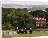 Canvas Prints of Horse Racing - Beverley Racecourse from PA Photos
