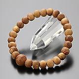 念珠ドットコム 数珠ブレスレット ≪在庫処分≫ 約7×8ミリ 屋久杉 腕輪念珠 世界遺産 2000800101608