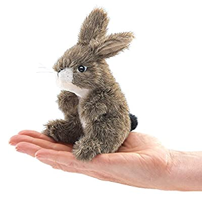 Folkmanis Mini Jack Rabbit Finger Puppet by Folkmanis Puppets