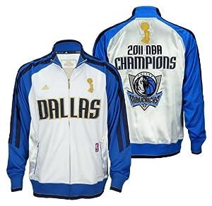 Dallas Mavericks 2011 NBA Champions Banner Mens Jacket by adidas