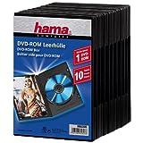 """Hama DVD-Leerh�lle mit Folie, 10er-Pack, Schwarzvon """"Hama"""""""