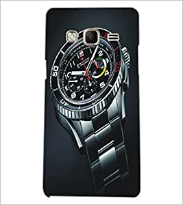 PrintDhaba Watch D-5142 Back Case Cover for SAMSUNG Z3 (Multi-Coloured)