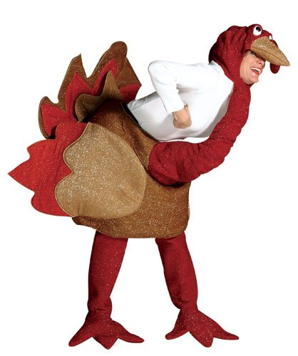 Turkey Halloween Costume,Size 7-10