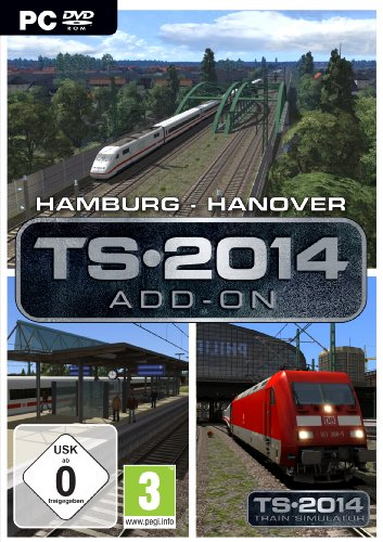 Train Simulator 2014: Hamburg-Hanover Route Add-On Steam Code (PC)