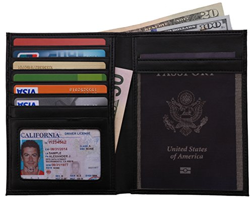 Travelambo-RFID-Blocking-Leather-Passport-Holder-Travel-Wallet-in-7-Colors