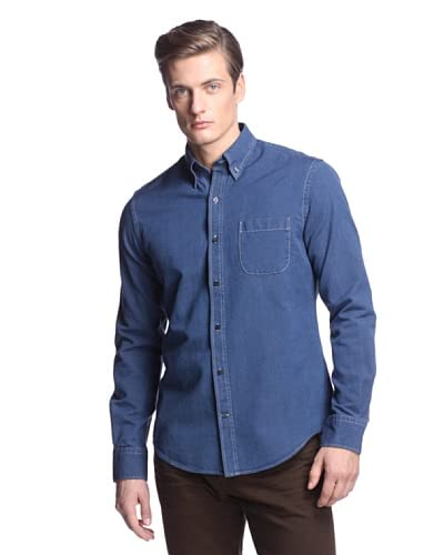 Vince Men's Canvas Button Down Shirt