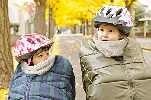 自転車の 自転車 子供 防寒 : 対策に♪ 子供乗せ自転車防寒 ...