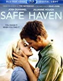 Safe Haven Blu-Ray + DVD+ Extra Bonus DVD + Digital Copy [2013]