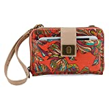 Sakroots Artist Circle Smartphone Cross Body Bag, Cayenne Treehouse, One Size