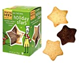 Holiday Star Shortbread Cookie by Dancing Deer Baking Company 7 oz Box