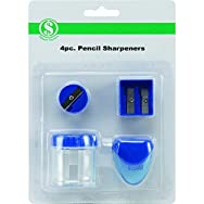 Do it Best GS10231Pencil Sharpener - Smart Savers-4PC PENCIL SHARPENER SET