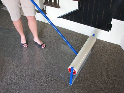 Plasticover Carpet Protection Film Temporary Adhesive