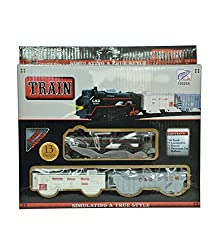 BATTERY OPERATED SIMULATING TRAIN SET KIDS GIFT TOY