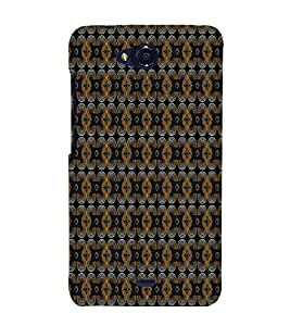 Curtains Cloth Design 3D Hard Polycarbonate Designer Back Case Cover for Micromax Canvas Play Q355