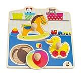 Hape - Puzzle con juguetes (0HPE1301)