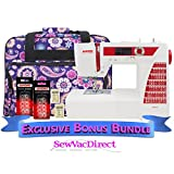 Janome DC2015 Computerized Sewing Machine with Exclusive Bonus Bundle