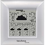 Technoline WetterDirektStation WD 9000, Silber, 2-teilig bestehend aus Station und Sensor