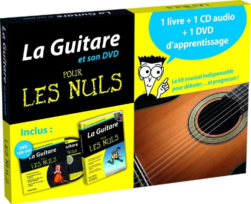 La guitare pour les nuls : Coffret 1 livre + 1 cd + 1 dvd d'apprentissage (1DVD + 1 CD audio) Reviews