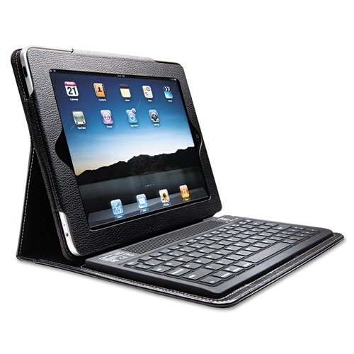 Kensington Keyfolio Bluetooth Keyboard Case For Ipad/Ipad2, Black