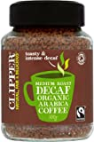 Clipper Organic Decaf Freeze Dried Arabica Coffee 100g - CLIP-8254