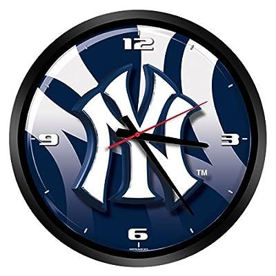 MLB Glass Wall Clock