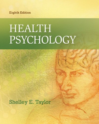 Health Psychology Hardcover – Unabridged,  by Shelley Taylor (Author)