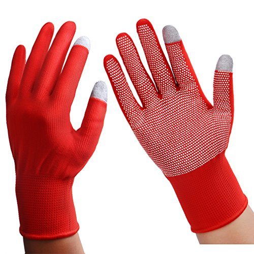 how to make gloves touch screen capable without conductive thread
