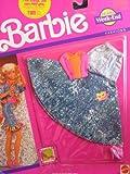 Barbie Jeans Week-End Fashions w Long Denim Skirt (1990 Arco Toys, Mattel)