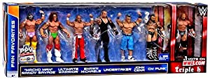 WWE Fan Favorites 7 Pack Action Figures by Mattel